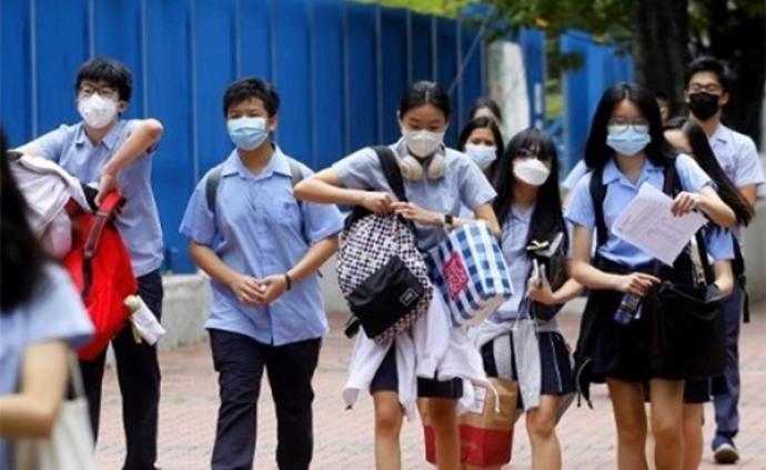 香港特區教育局收緊防疫措施:學校明起暫停所有活動2周