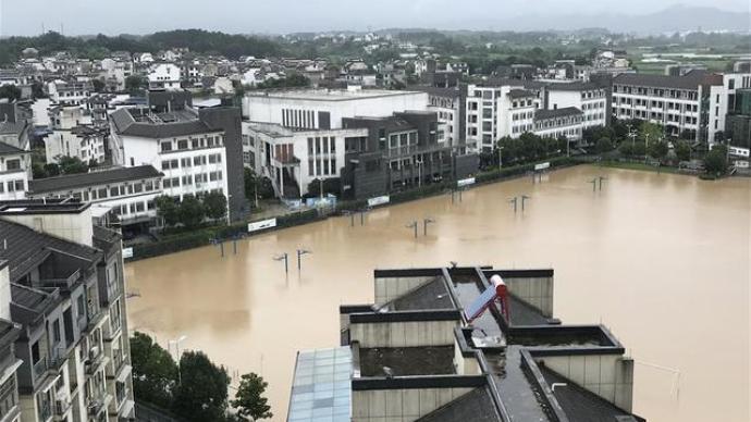 安徽救災應急響應提至Ⅱ級,命令5市做好人員撤離工作