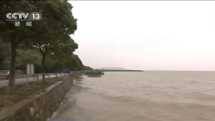 """水利部:""""一江三湖""""水位依然超警"""