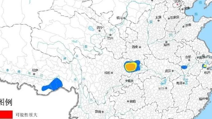 山洪灾害预警!浙江、四川、重庆部分地区发生山洪可能性较大