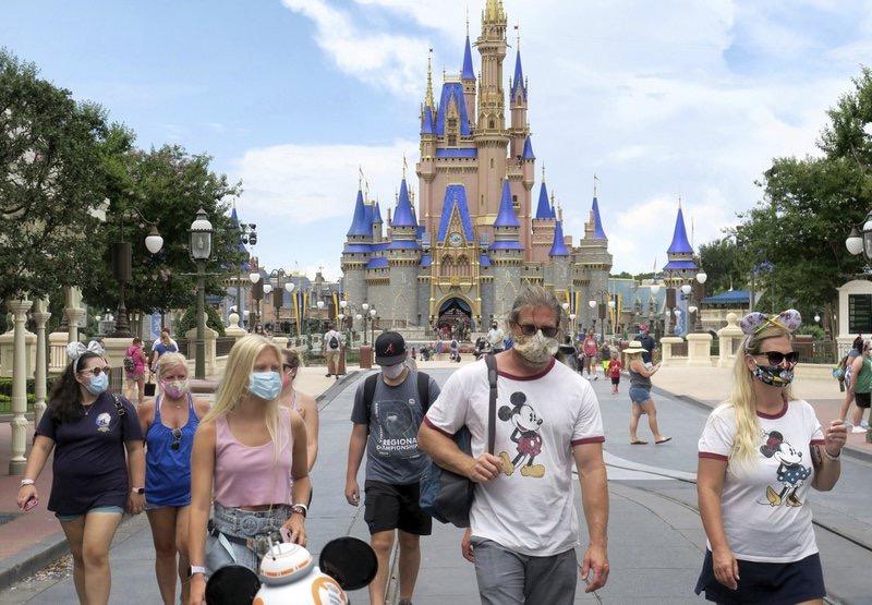 佛州迪士尼乐园7月18日重新开放。