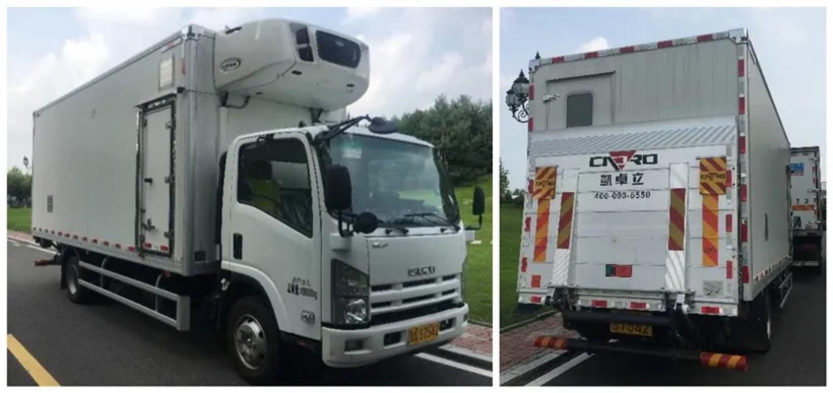 国内首台全封闭式SPF(无特定病原体)猪运输车正式投入使用