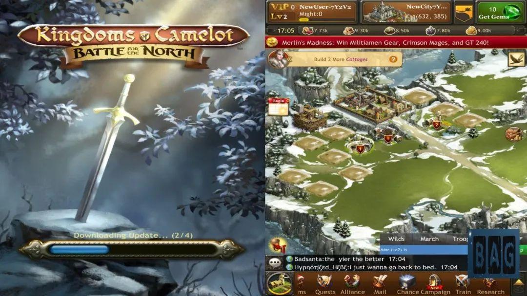 《亚瑟王国:北方之战》