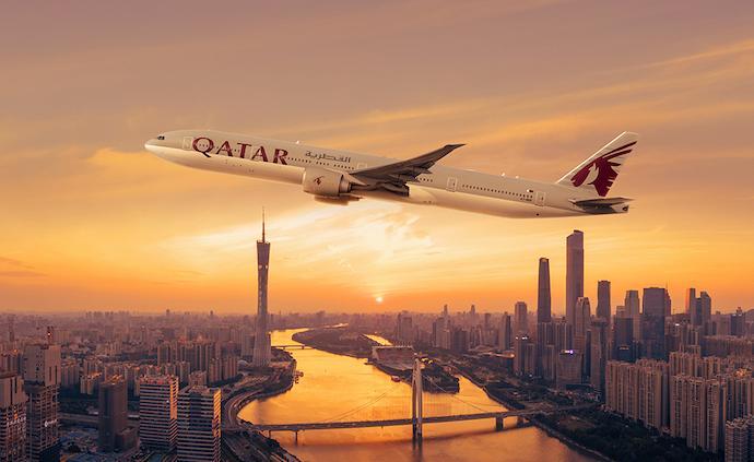 卡塔尔航空自7月26日起恢复多哈-广州客运航线