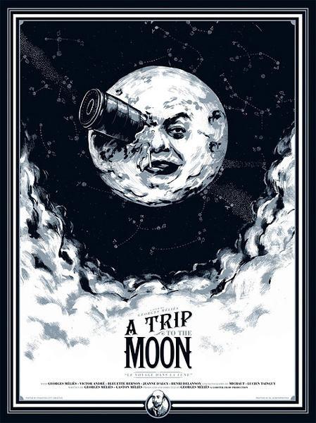 《月球旅走记》