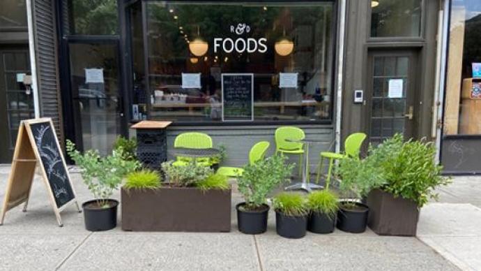 纽约疫情缓和,户外就餐区能否拯救餐饮业