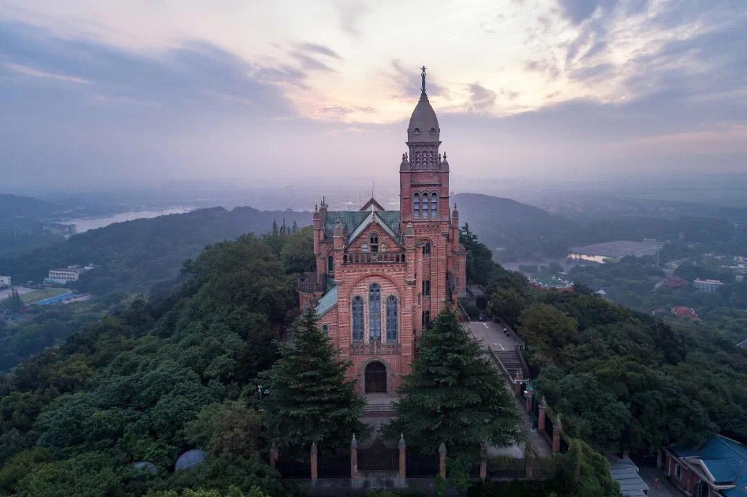 上海佘山国家森林公园(示意图)