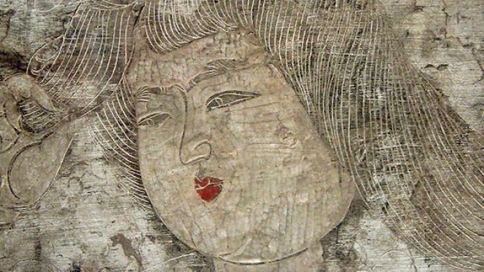 """""""皇后的天堂"""",唐武惠妃石椁线刻画与盛唐宫廷艺术审美观"""
