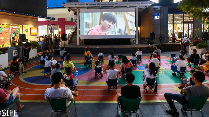 上海電影節|夜太美,因為有露天放映