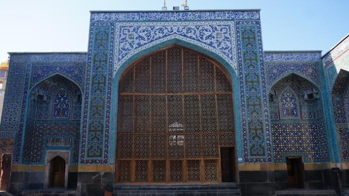 伊朗笔记①|从大不里士的蓝色清真寺到马拉盖的红塔