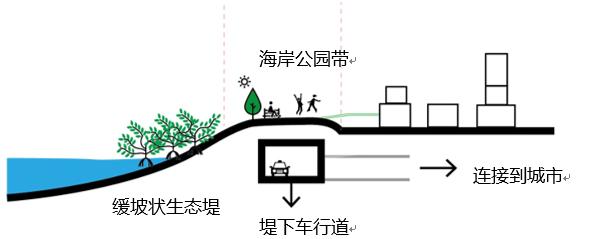 超级堤坝示意。 本文图片均由作者提供