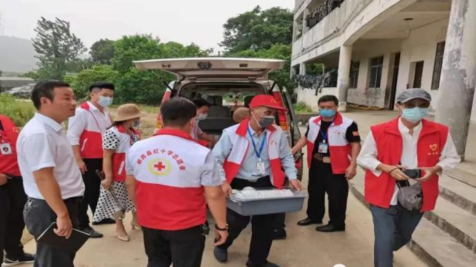 全國紅十字救援隊汛期幫助受災群眾2.32余萬人