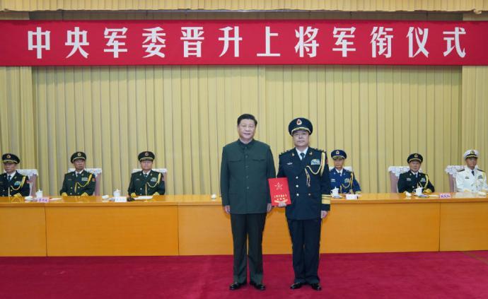 火箭軍政委徐忠波晉升上將