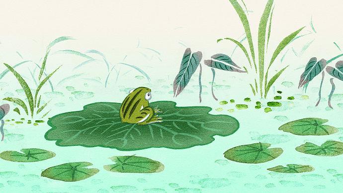 叙诡笔记|古代笔记中的巨蛙出场与群蛙上路