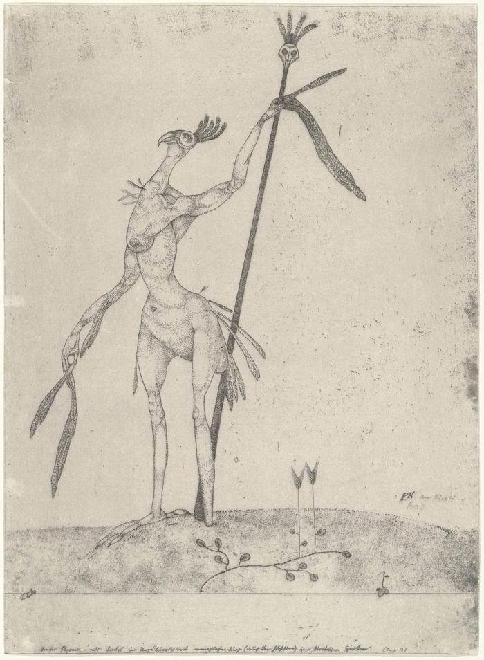 保罗·克利《老凤凰》1905
