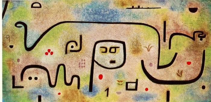 保罗·克利《甘苦岛》1938