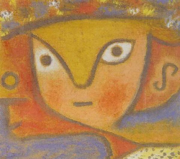 保罗·克利《花女》1940