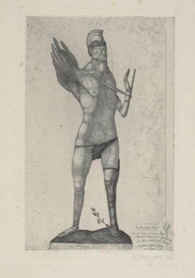 保罗·克利《独翅英雄》1905