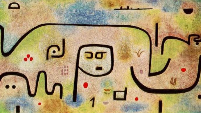 保羅·克利逝世80周年:《甘苦島》與畫家晚年的悲欣交集