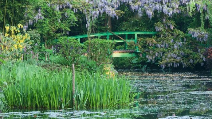 """走訪""""莫奈的花園"""":未曾走遠的睡蓮、鳶尾與日本橋"""