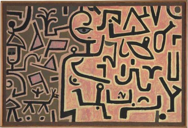 保罗·克利《计划》1938