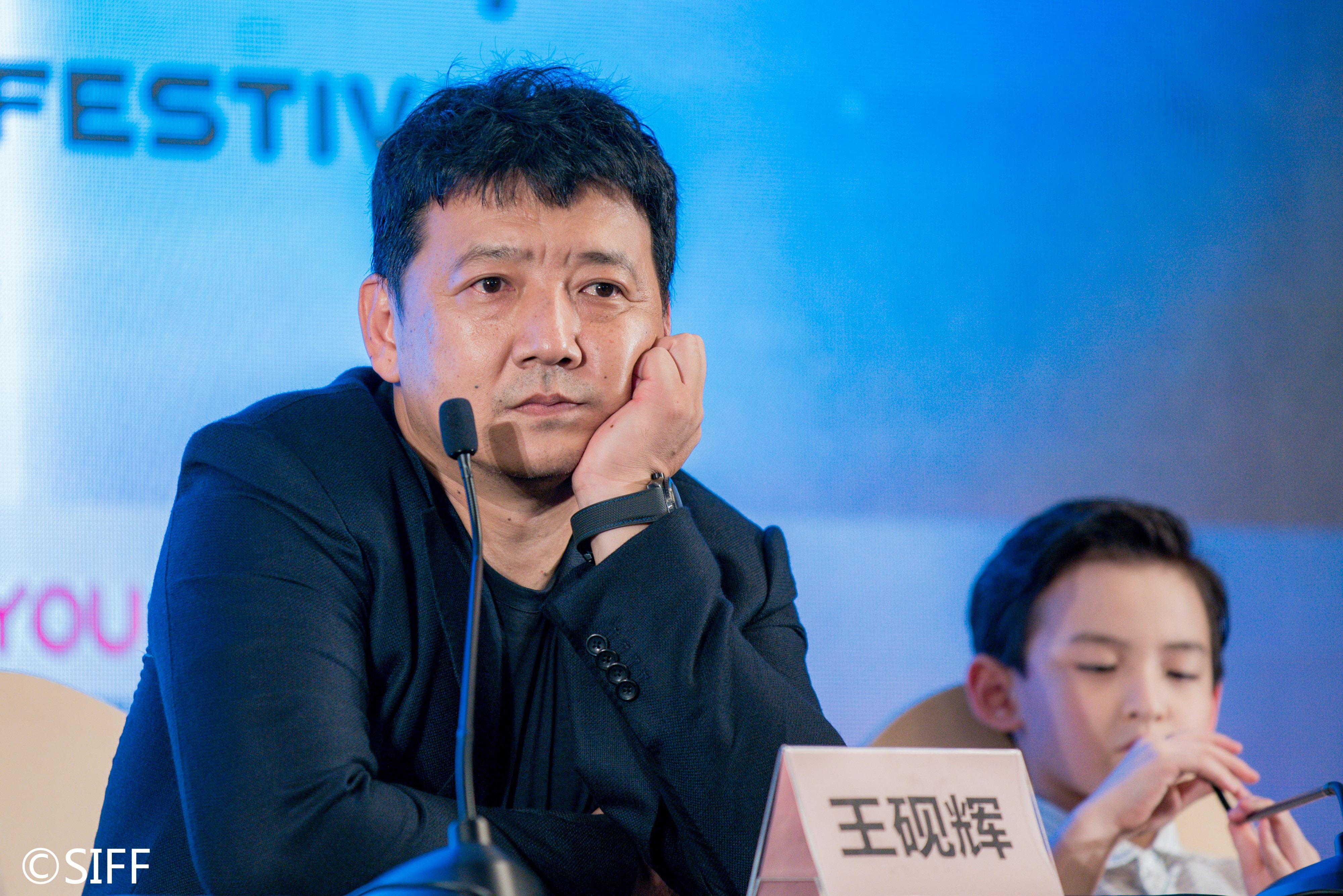 7月29日,中国上海,2020上海国际电影节,王砚辉出席电影《落地生》发布会。