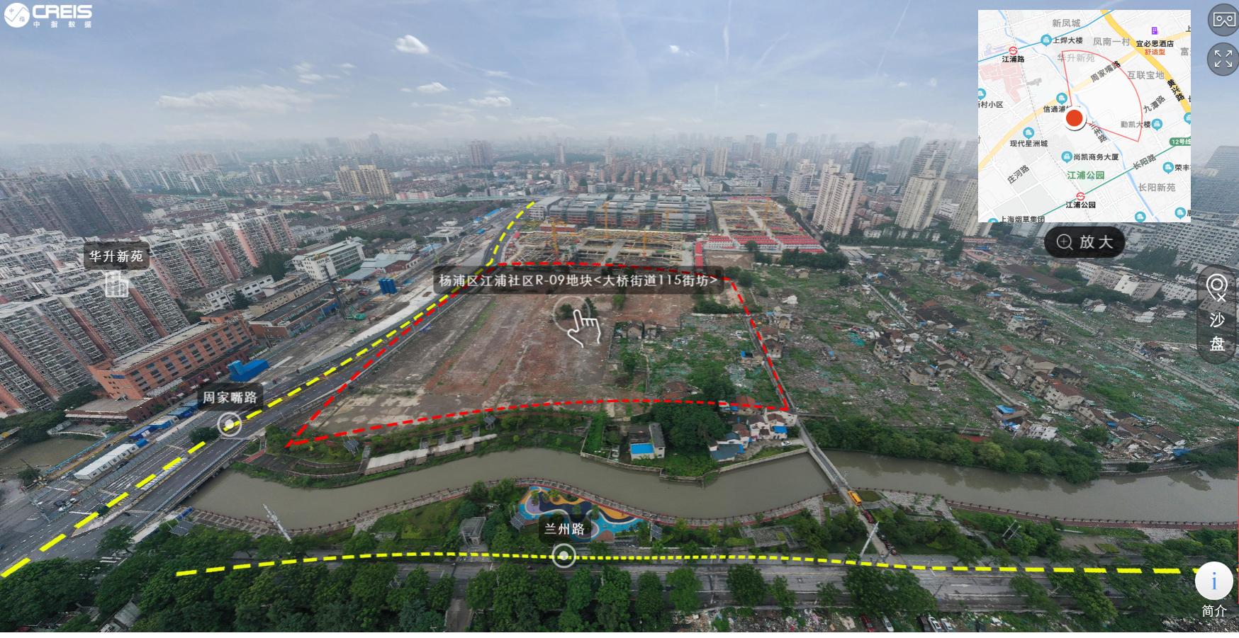 杨浦区江浦社区R-09地块中国指数钻研院图