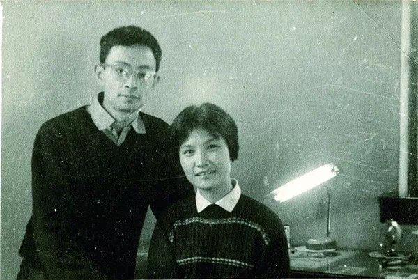 吴贻弓夫妇早年合影