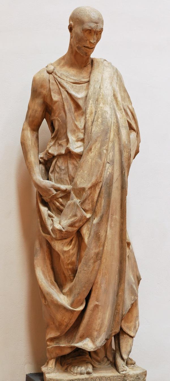 佛罗伦萨的哈巴谷塑像
