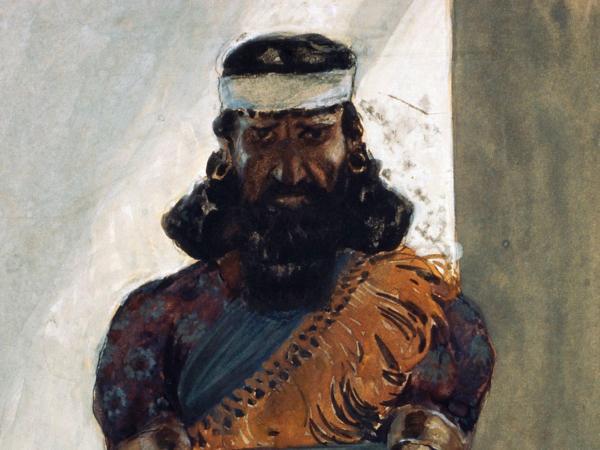 James Tissot绘哈该(约1896-1902)
