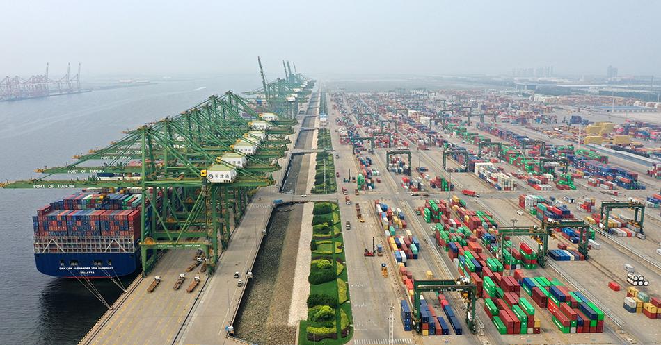 腾达娱乐登录:两部委:加快天津北方国际航运枢纽建设,建津冀世界级港口群