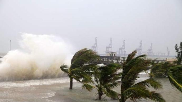 """台风""""黑格比""""加强为13级"""
