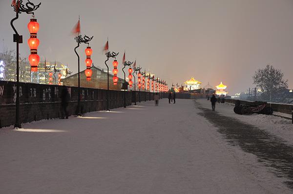 包括明城墙在内的西安市中心城区,一直是莲湖、新城和碑林三区分治。
