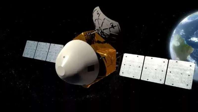 天问一号探测器示意图。 国家航天局供图