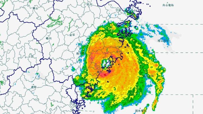 """台风""""黑格比""""4日凌晨在浙江乐清沿海登陆"""