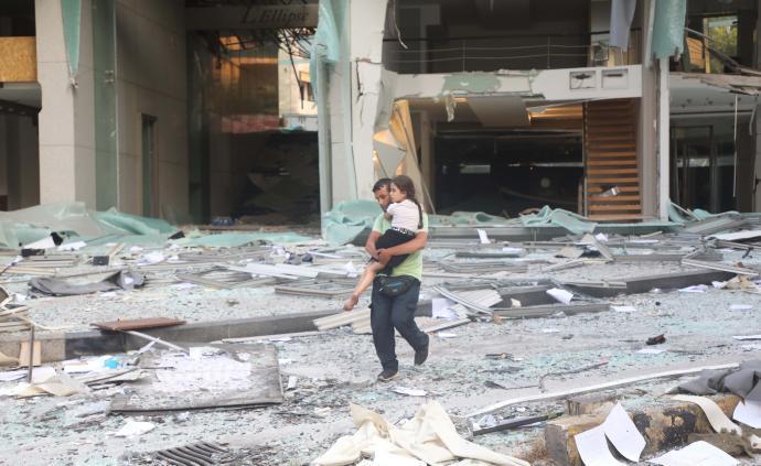 视频直播丨黎巴嫩首都发生大爆炸,已致至少78死4000伤