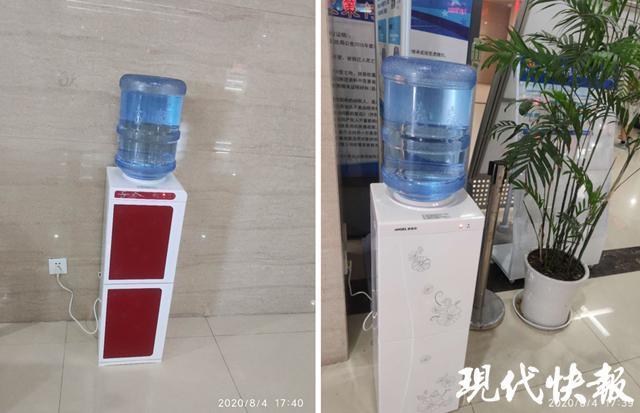 饮水机已换新。 受访单位供图