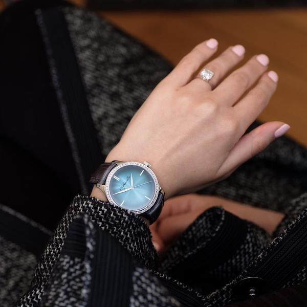 亨利慕时勇创者大三针Diamonds Purity腕表