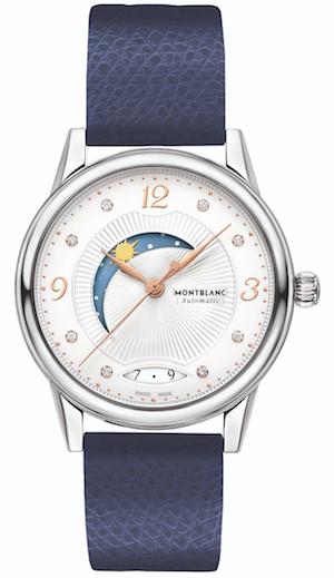 万宝龙宝曦系列昼夜显示腕表