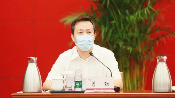 北京海淀区长曾劲履新金隅集团党委书记,提名为董事长人选