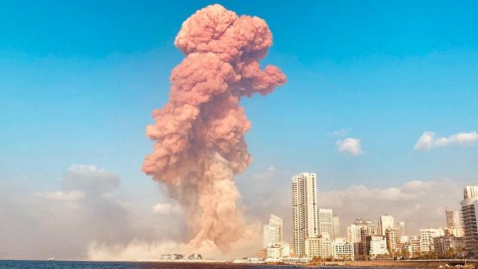 贝鲁特港口2750吨硝酸铵从哪里来?六年前卸下后无人问津