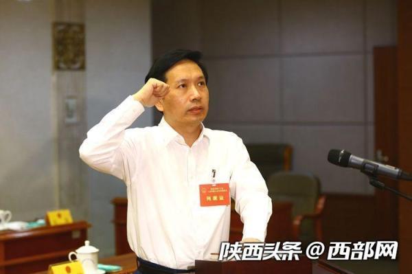 陕西省副省长、代省长赵一德。西部网 图