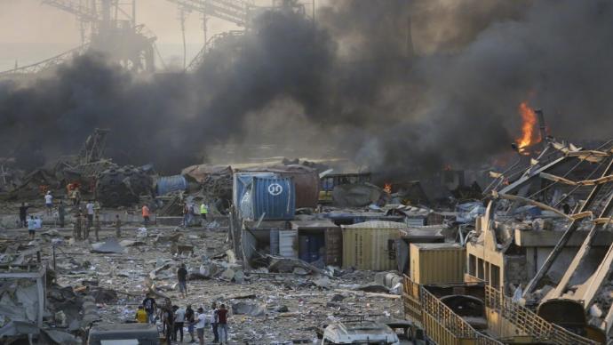 黎巴嫩港口爆炸事件遇难人数升至135人,另有数十人失踪