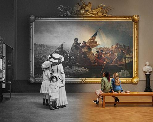 """""""创造大都会博物馆:1870—2020""""宣传照片"""