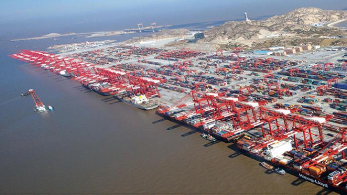 海關總署:7月份出口增長10.4%