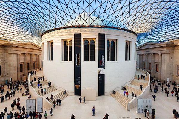 大英博物馆馆内