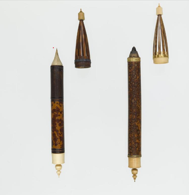 日本正仓院藏唐式缠纸笔