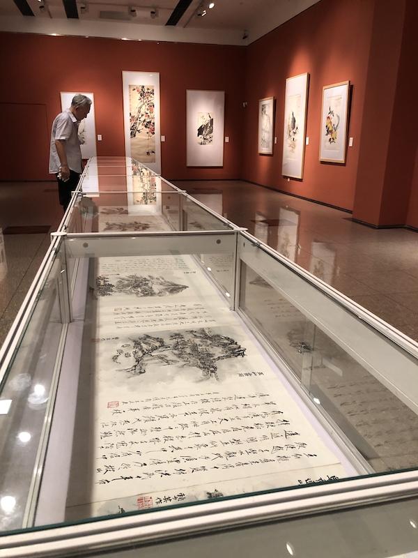 上海中国画院展览现场