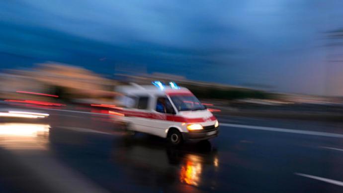 云南晉寧一觀光小火車發生事故致28人受傷