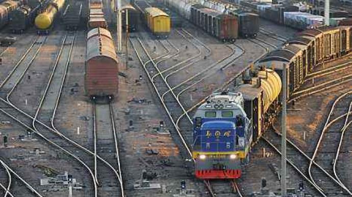 7月份國家鐵路貨物發送量同比增長8.5%